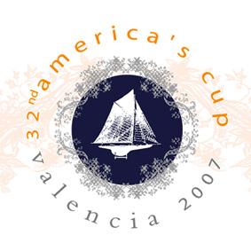 Création logo America's cup identité visuelle – Graphiste freelance logo La Réunion