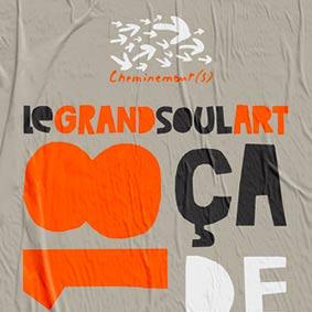 Création affiche Cheminement(s) – Graphiste logo freelance La Réunion