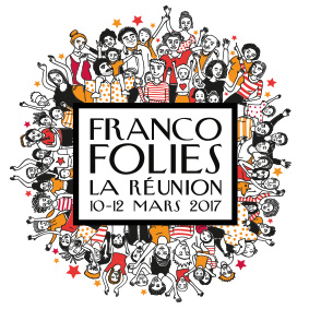 Illustration Francofolies de la Réunion – Graphiste logo freelance