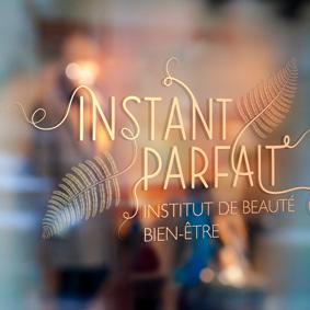 Création logo Instant Parfait – Graphiste freelance île de la Réunion