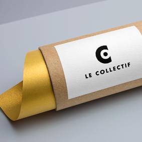 Création logo Le Collectif – Graphiste freelance île de la Réunion