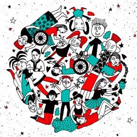 Création Affiche Regards d'Ailleurs – Graphiste logo freelance la Réunion