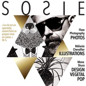 Affiche Sosie – Graphiste logo freelance La Réunion