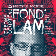 Création affiche FOND'LAM – Graphiste freelance Réunion