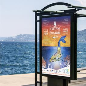 Création Affiche festival Image Sous-Marine