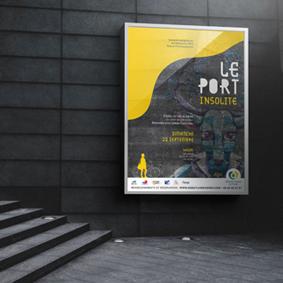 Affiche Journée européenne patrimoine 2019, Graphiste La Réunion